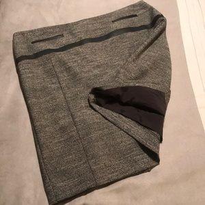 Express tweed skirt